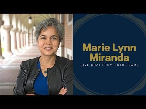 Live Chat with Marie Lynn Miranda