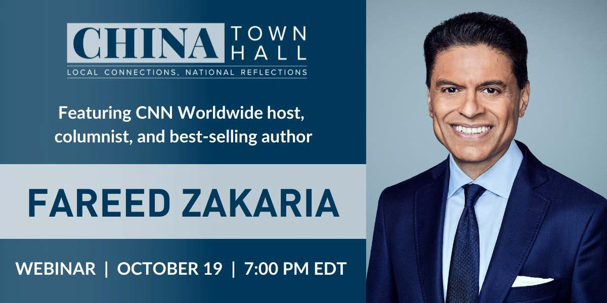 China Town Hall 2021 Livestream with Fareed Zakaria and ND Discussion